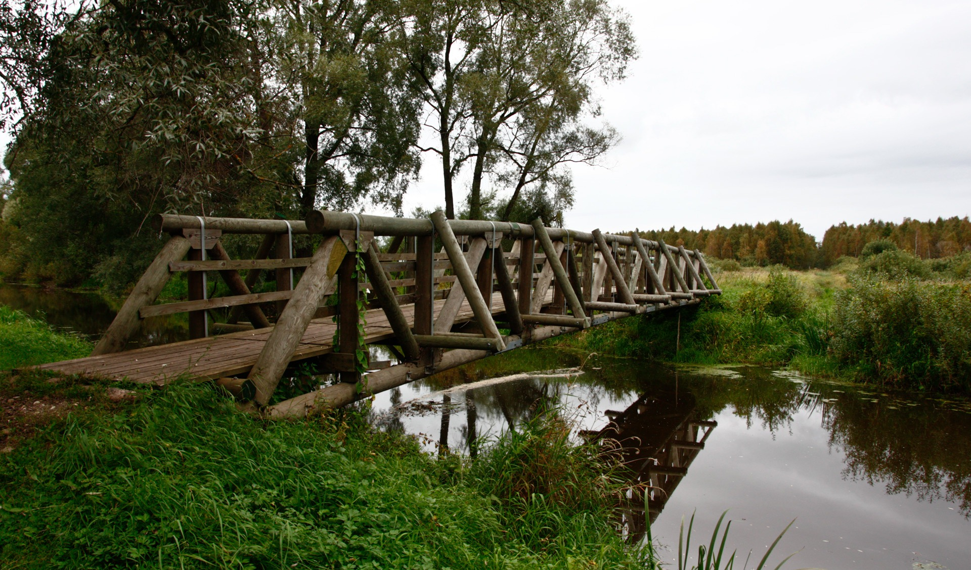 Фото мостики в деревне